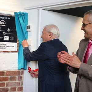 Sir David Attenborough Guest of Honour at Museum Inauguration Ceremony